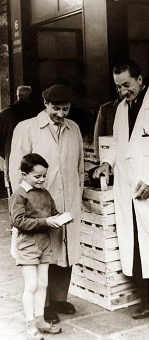 Roland Bathélemy enfant